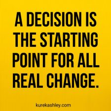 A decision Quote