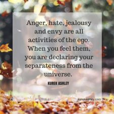 Anger, hate, jealousy Quote