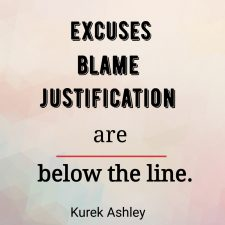 Excuses blame Quote