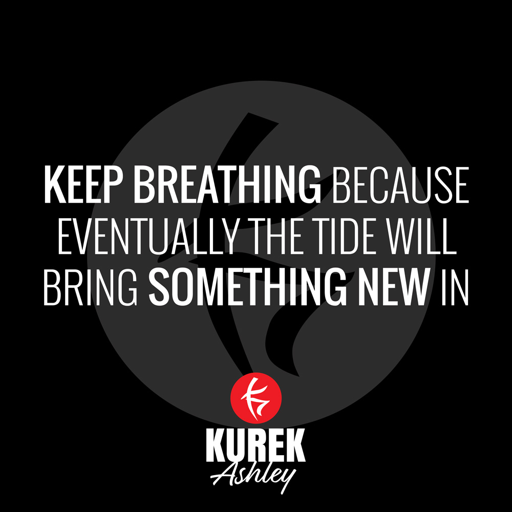 Keep Breathing Quote
